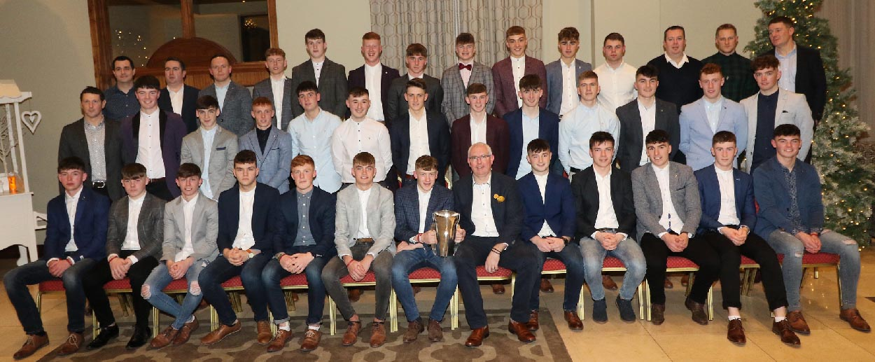 2019 Galway Minor Hurling Medal Presentation2